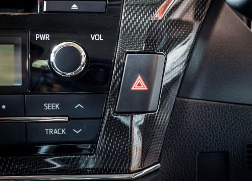 Vehicle Carbon Fiber interior