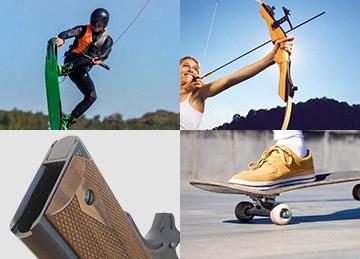 Different applications for Custom Plastics in sports gear