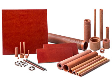 Group of Paper Phenolic Fabricated Parts