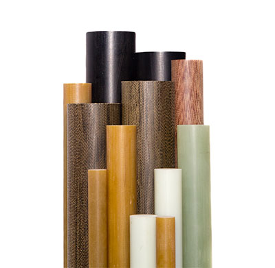 Laminated Rods, Standing view