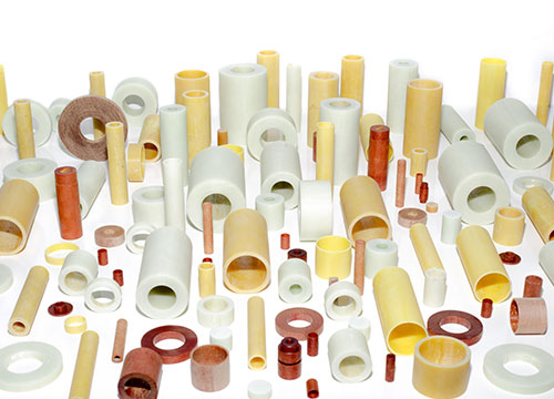 Group of Plastic Spacers