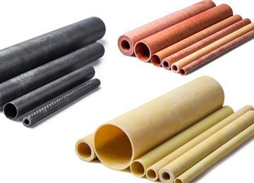 Group of differently sized tubing